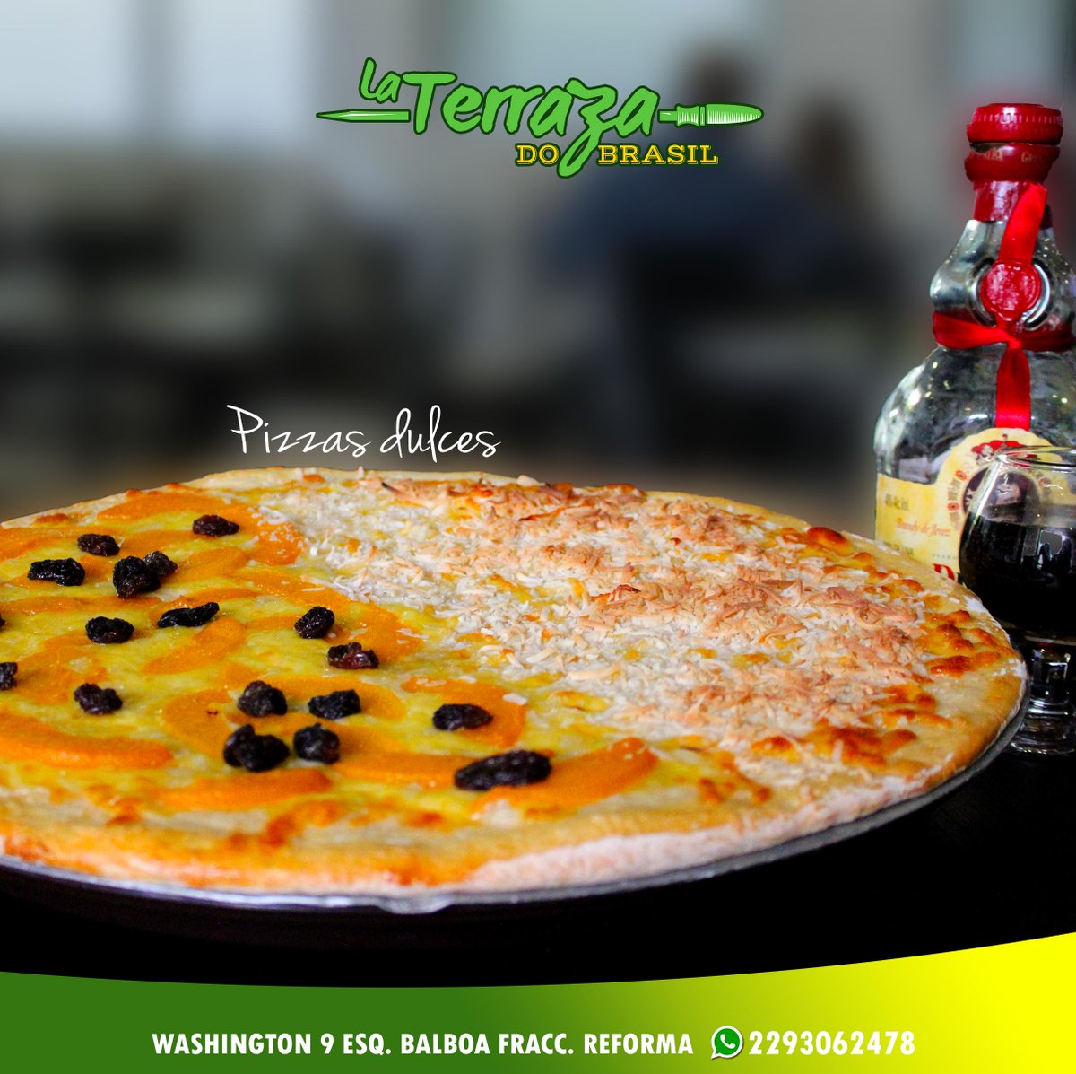 La Terraza Do Brasil On Twitter Las Pizzas Dulces Son La