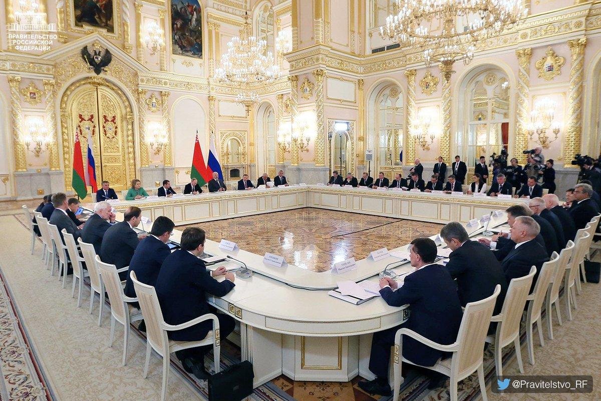 Президент и правительство в картинках