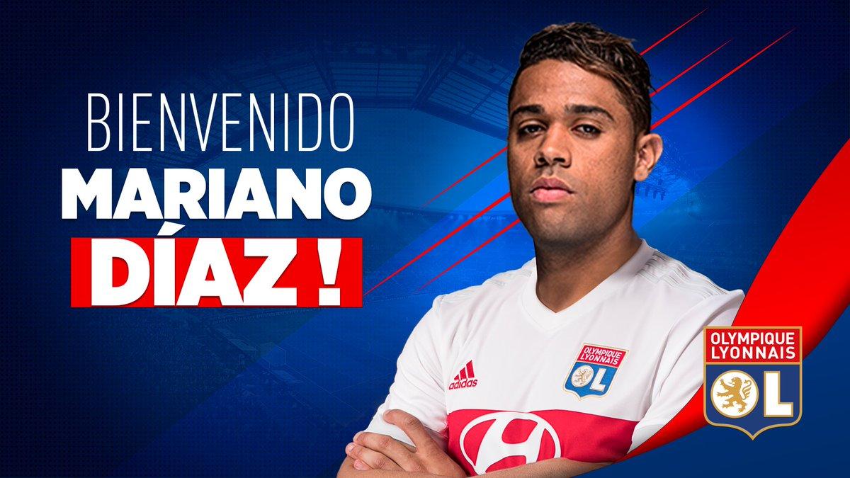 Maillot THIRD Olympique Lyonnais Mariano DIAZ