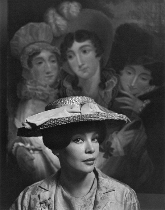 Happy birthday Leslie Caron. Photo: Yousuf Karsh, 1963