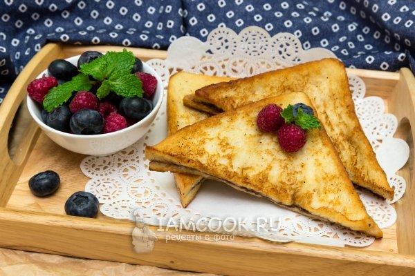 Гренки рецепт с сыром