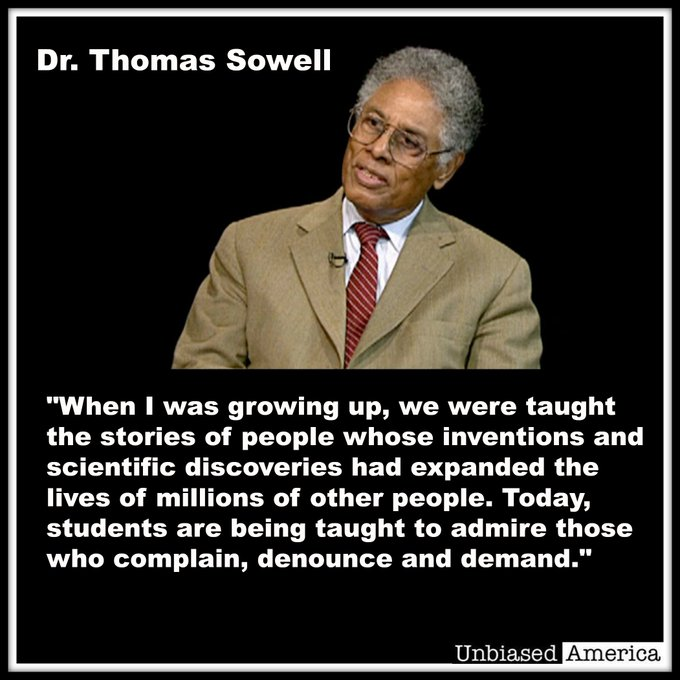Happy birthday Dr. Thomas Sowell! The greatest living economist