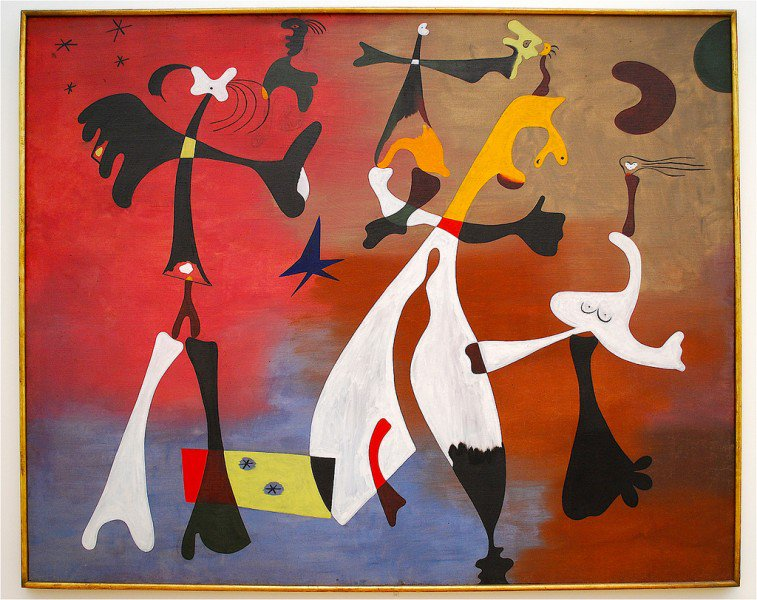 #Citation Personnages with Star, 1933 #JoanMiró #KarinJurick #peintures <br>http://pic.twitter.com/Dyia0Rexnw