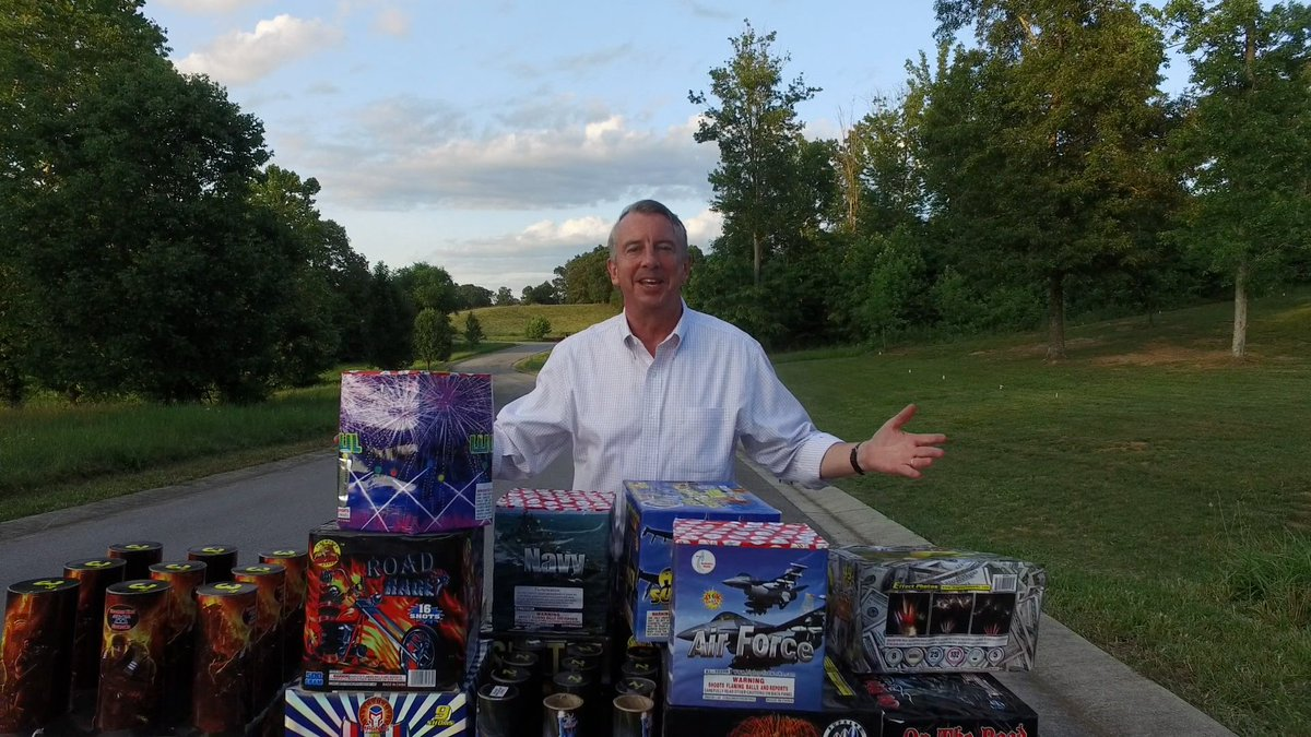 As Va. governor, I will work to make fireworks legal here so we can celebrate 4th of July in true American fashion! https://t.co/xvevts5RIs