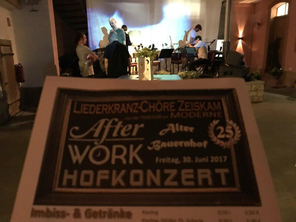 Stefan Schmitt On Twitter Afterwork Hofkonzert Mit Jock Visuals