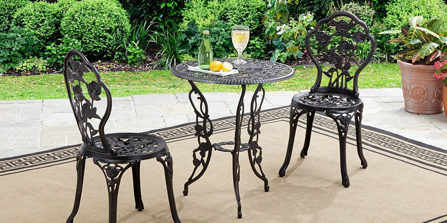 Enjoy a refreshing drink on the Rose Bistro Set. RT to #win #WalmartWednesday. https://t.co/sbIopW5oyv https://t.co/Xto5pKc4uT