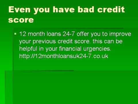 12 month payday loans no credit check