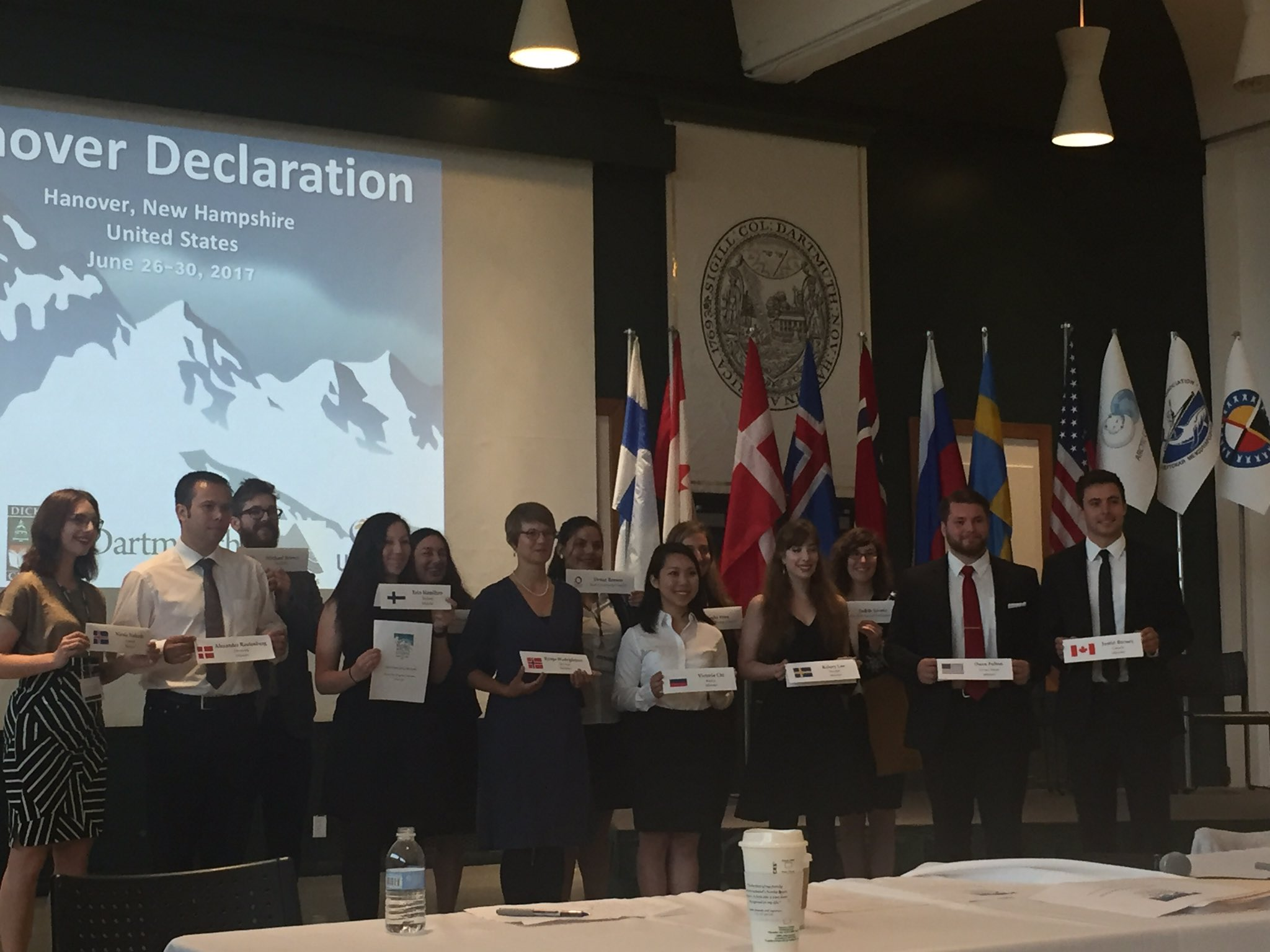 Could not have spent the week with a better or smarter group of people devoted to #arctic diplomacy #Dartscidip #dartmouth https://t.co/EhRxKkvuVr