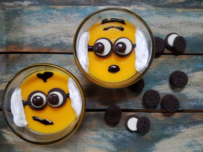 Despicable Me 3 Minion BANANA Pudding Dessert Recipe