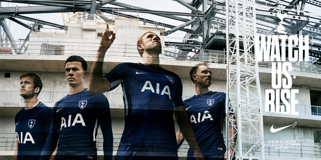 Introducing our new 2017-18 @NikeUK kit!  Get your hands on it now: https://t.co/RiYRelZgCN  #WatchUsRise #COYS
