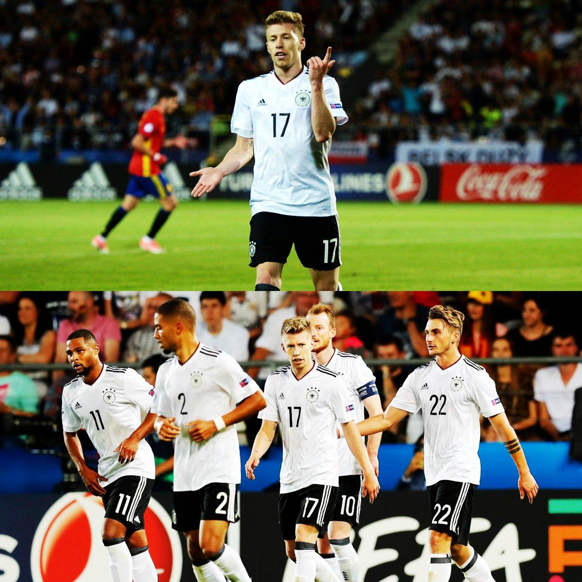 Germania Campione d'Europa Under 21: Spagna battuta in finale