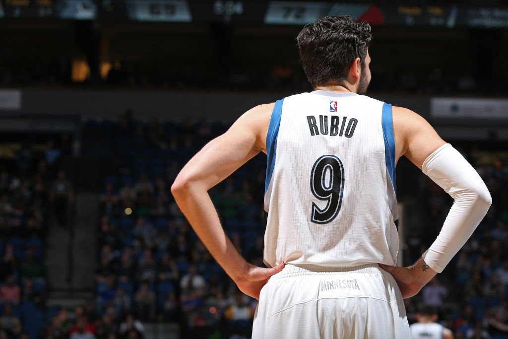 Ricky Rubio traded from Wolves to Jazz for 1st-round pick
