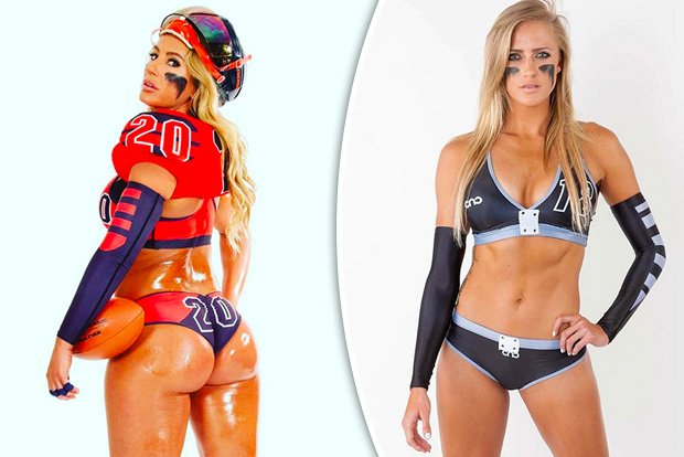 Watch The Hottest Lingerie Football Babes Ever In Action Https T Co