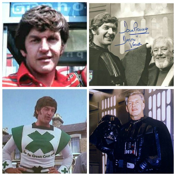 David Prowse is 82 today, Happy Birthday David!
