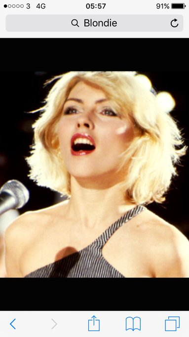 Happy birthday Debbie Harry 72 today have a great day x
