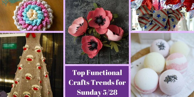 Top Functional Crafts Trends for Sunday 5/28 #crafts #DIY