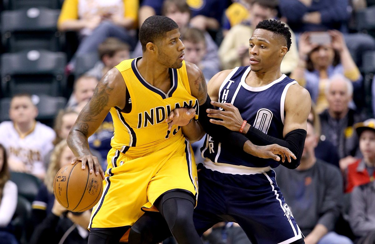 Breaking: Pacers trade Paul George to Thunder for Victor Oladipo and Domantas Sabonis, per @ramonashelburne and @sam_amick