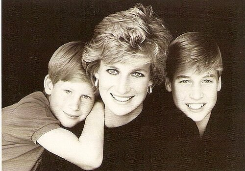 A very happy birthday to the much loved and much missed Princess Diana, pictured here with William and Harry