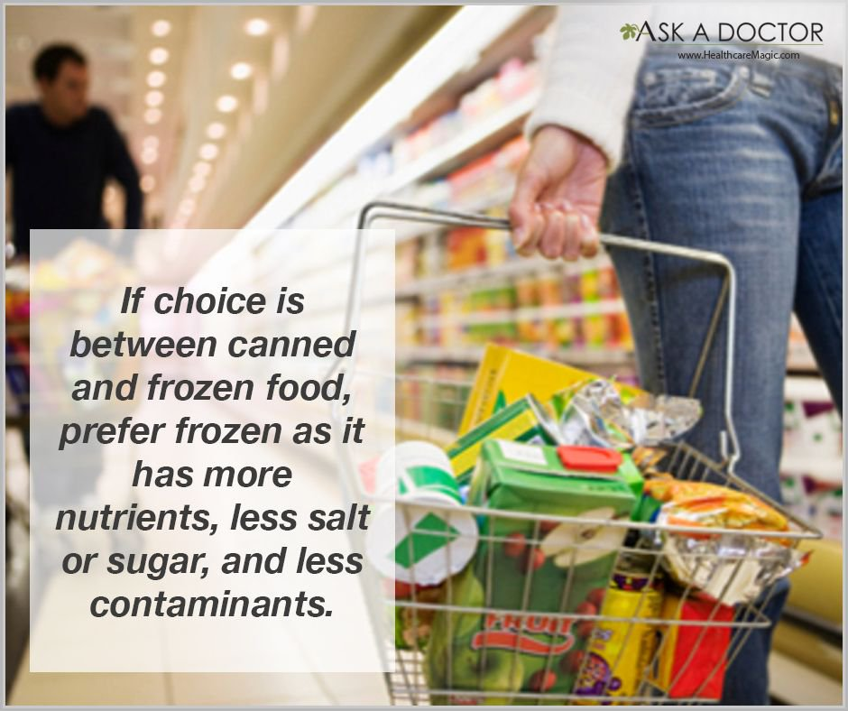 Prefer #frozen to #canned #AskADoctor #DailyHealthTips  https://t.co/QugkKzbpjv