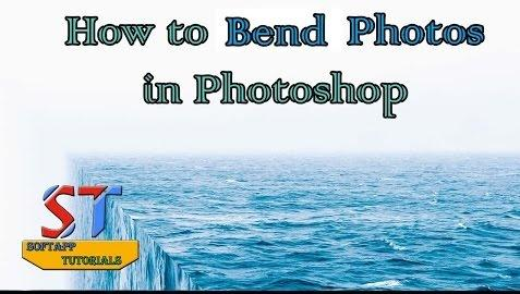 How to Bend a Picture in Photoshop