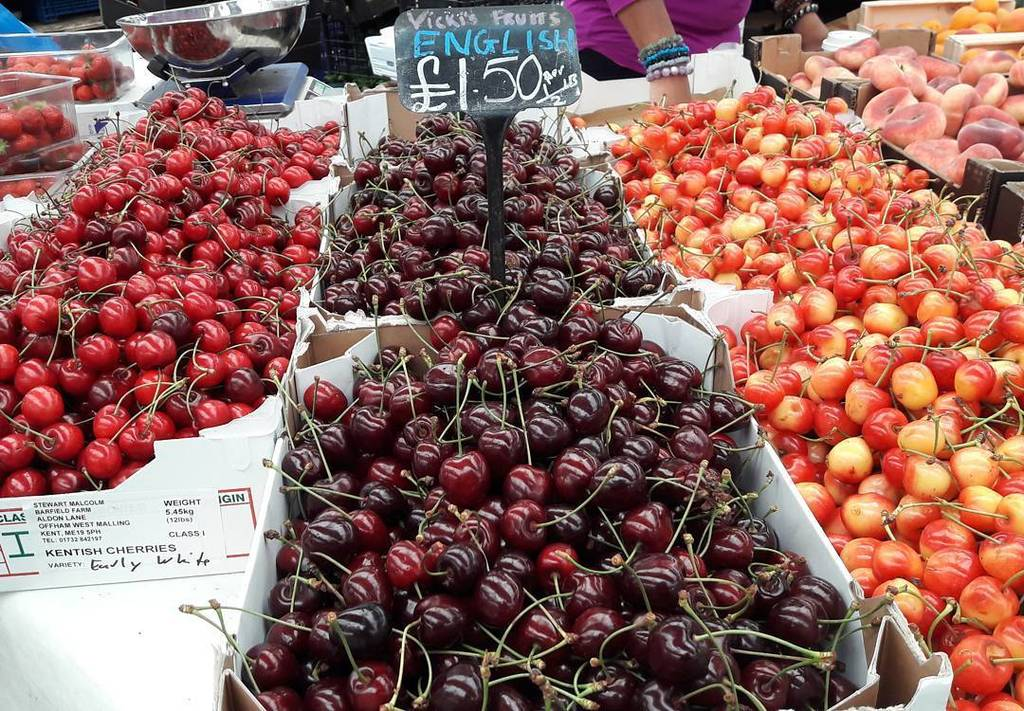 Image result for There are three types of cherries