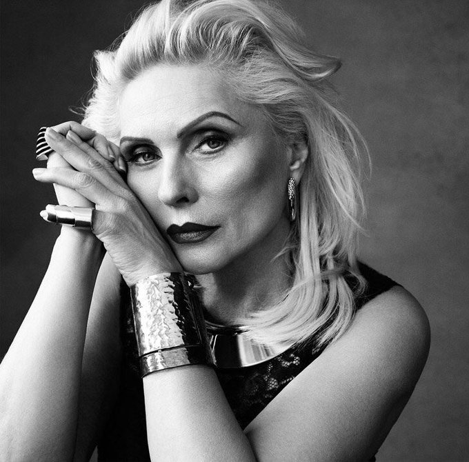 Happy Birthday to this  amazing woman...Debbie Harry 72yrs old