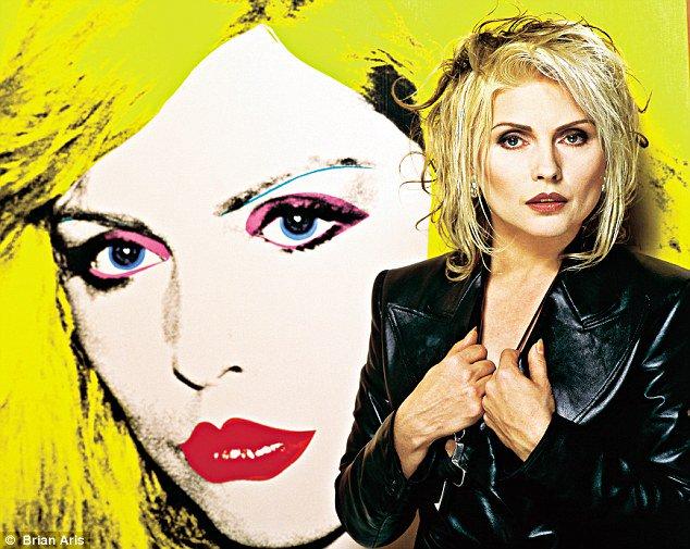 RT@ URMZINE Happy birthday to Debbie Harry! (Blondie)