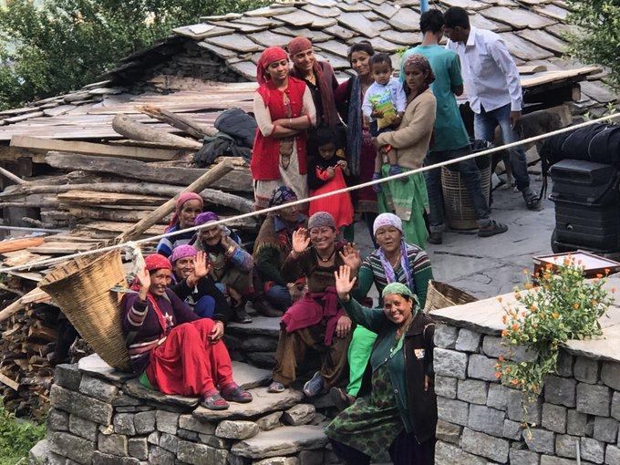 The first audience #palpaldilkepaas #manali #film #shooting #happy #people #thankyou https://t.co/ZVgXsLXwhI