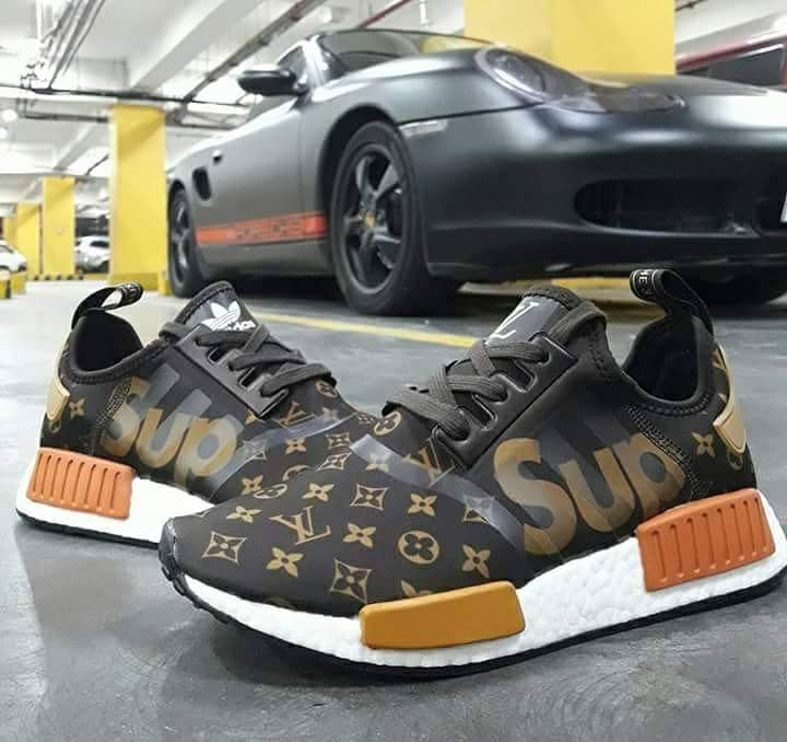 classic fit 020da a5ceb Customs SUPREME x LV x NMD HypedPlug Equiptex