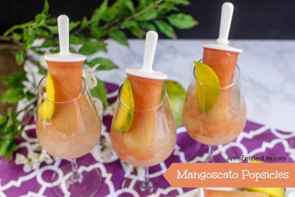 Mangoscato Popsicles