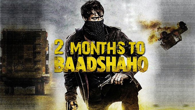 #Baadshaho on September 1st. The clock is ticking! https://t.co/9jWZnbea2L