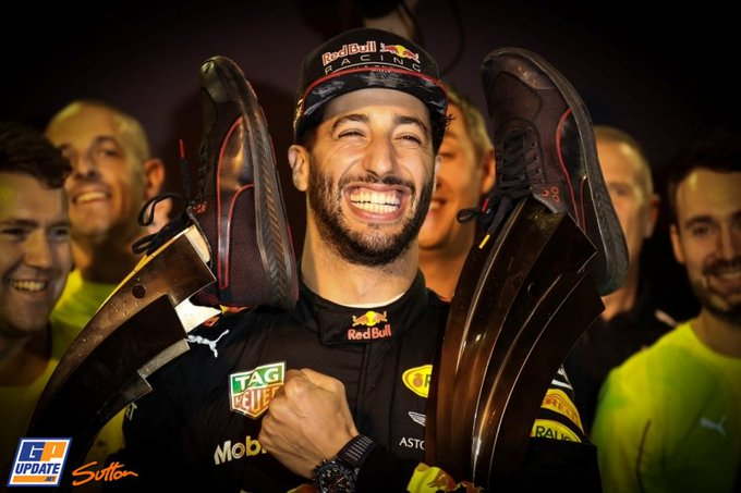 Happy Birthday to Red Bull\s Daniel Ricciardo, who turns 28 today!