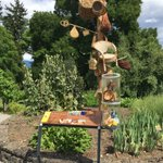Wonderful new #ethnobotany garden at Geneva #Botanic Garden. Fresh approach to outdoor interpretation.