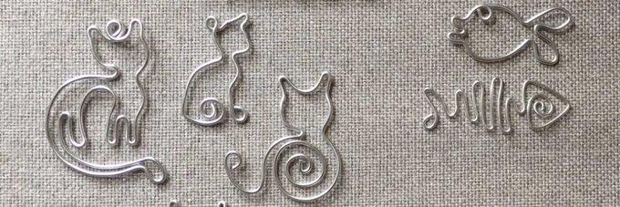 Aluminiumdraad creaties / Draad goodies tutorial