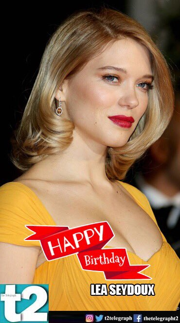 to she\s quite a presence on screen. Happy birthday, Lea Seydoux!