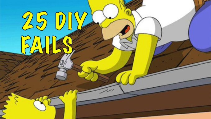 25 Unfortunate DIY Fails
