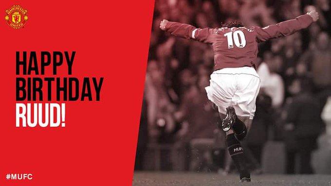 Happy birthday Ruud Van Nistelrooy