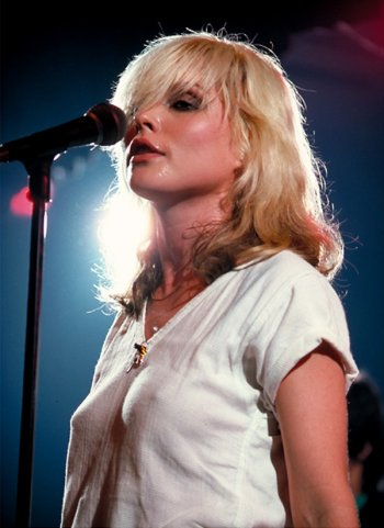 Happy birthday to Deborah Harry, born on 1 July 1945, singer with Blondie