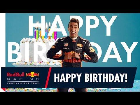 HAPPY BIRTHDAY DANIEL RICCIARDO! -  -