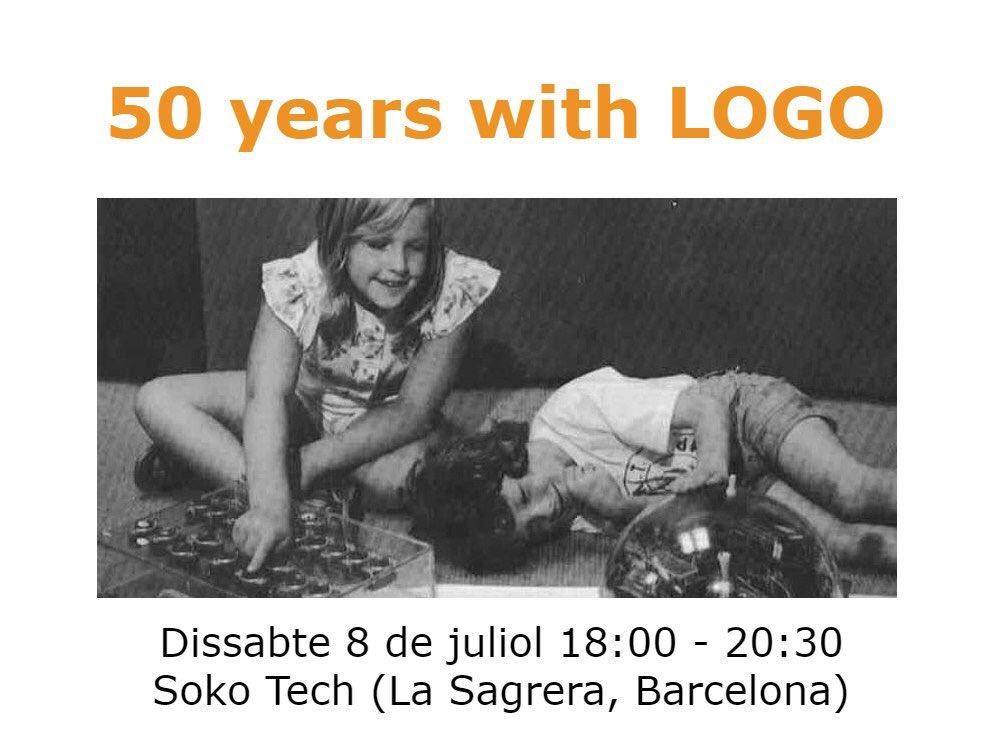 Dissabte vinent celebrarem 50 anys amb LOGO! https://t.co/hGW6cSNULO Ens acompanyaran persones inspiradores, oportunitat única: t'esperem! https://t.co/ygqCidmVti