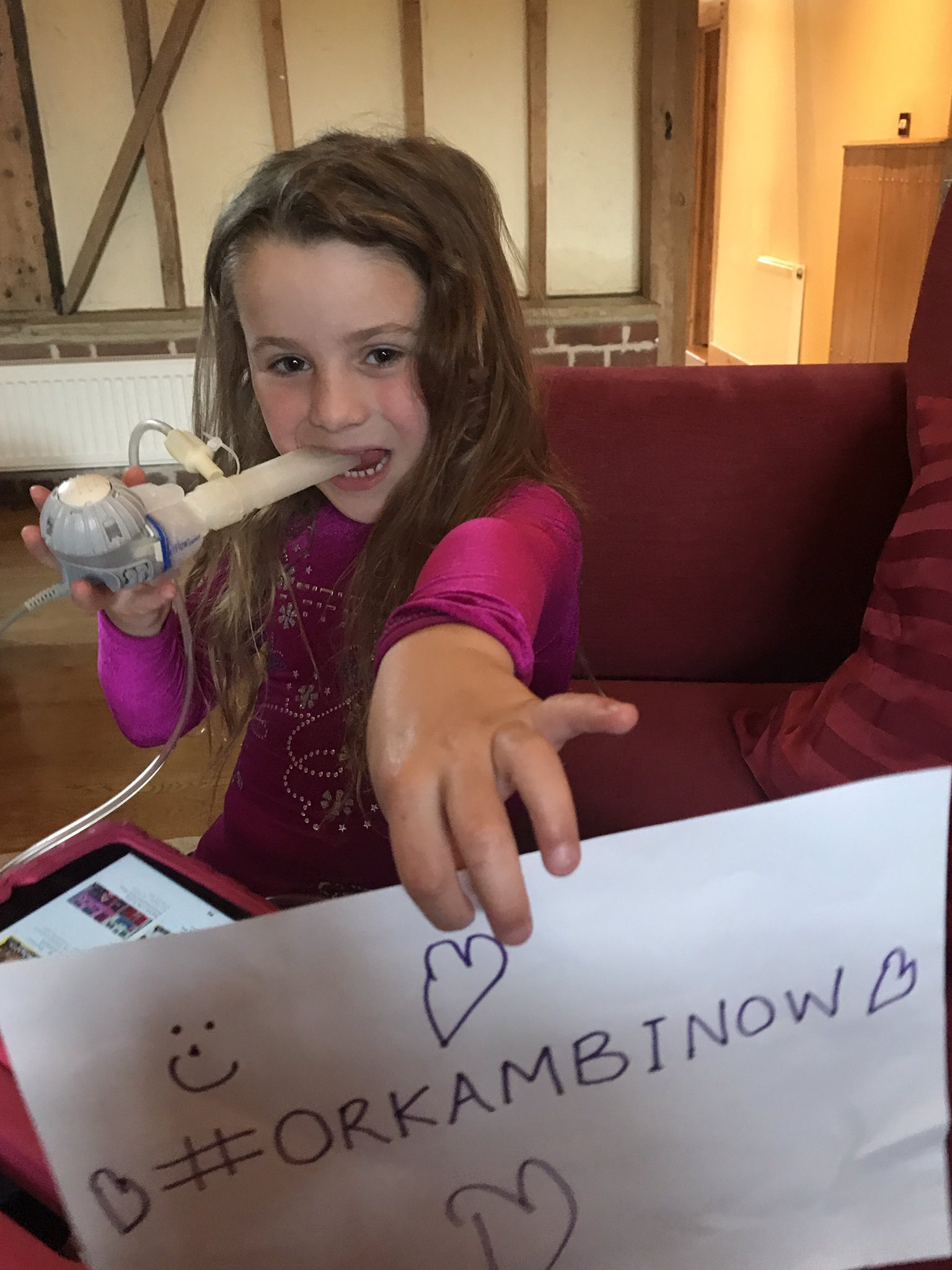 @NHSEngland @VertexPharma @Number10gov #OrkambiNow  I want 2spend less time doing physio & treatments & more time playing @cftrust @strawfie https://t.co/rPD4xIwvvG