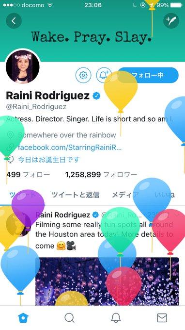 Happy Birthday Raini     I love you so much
