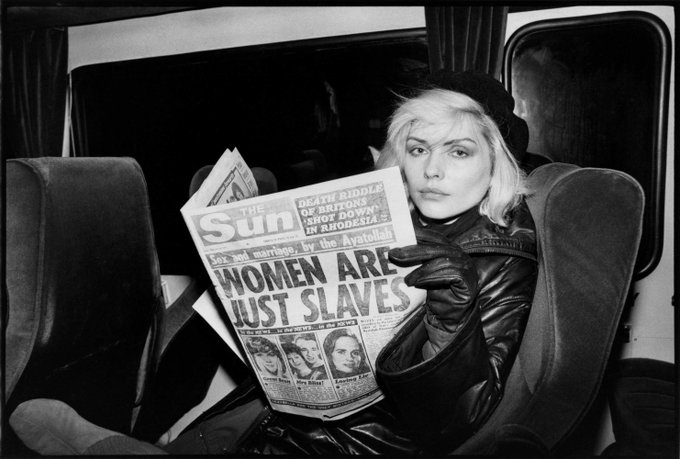 Happy birthday to the one and only, Debbie Harry!