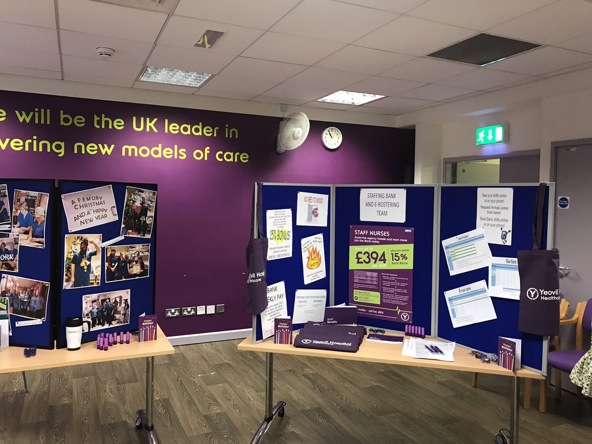 Nurse Open Day YeovilHospital Today We Are Meeting Fantastic Nurses Who Will Hopefully Be Joining Us Very Soon Proud To Work At Ydhpictwitter