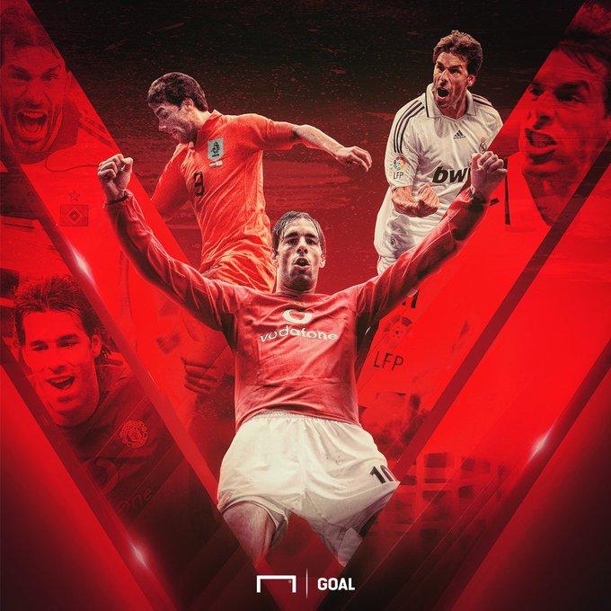 Happy Birthday to former Man Utd, Real Madrid and Netherlands striker Ruud van Nistelrooy!
