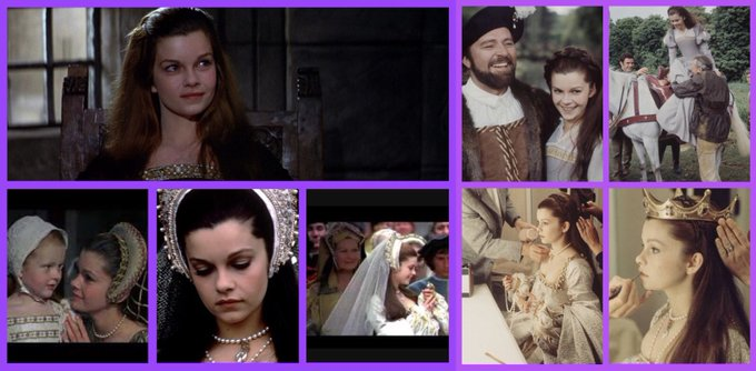 Wishing a Most Happy to Genevieve Bujold, my favourite actress to portray