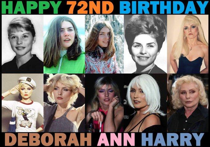 Happy birthday Debbie Harry x