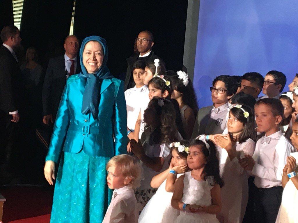Madame Rajavi, #FreeIranRally https://t.co/fJ7C9yKHtd