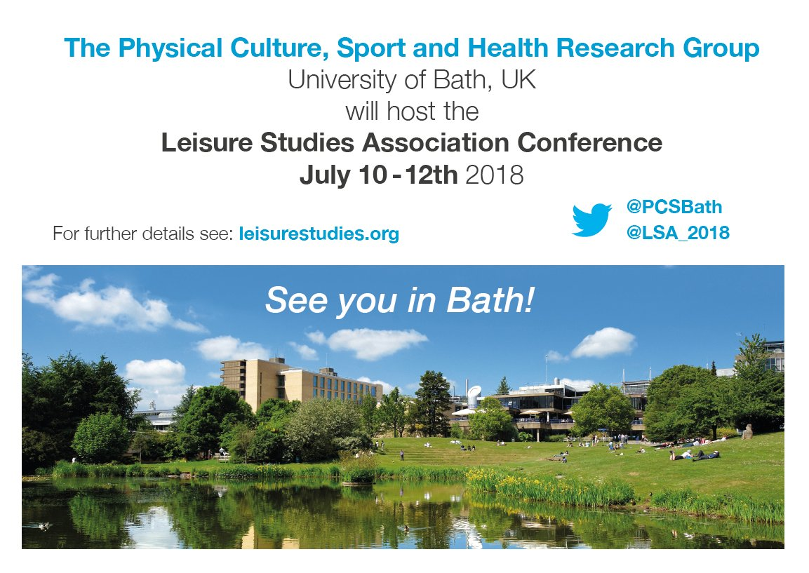 http://www.bath.ac.uk/events/leisure-studies-association-lsa-annual-conference-2018/