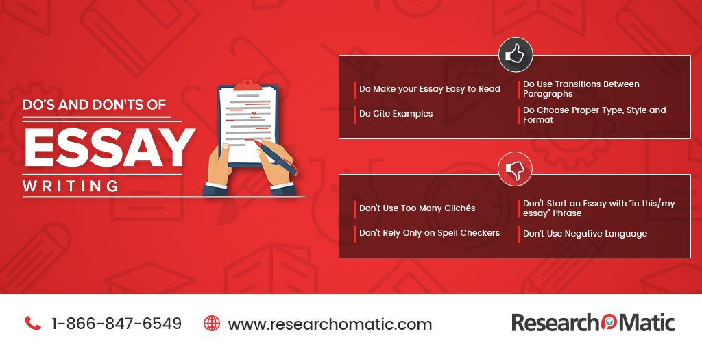 Do&#39;s and Don&#39;ts of Essay Writing. #Researchomatic #Students #Assignments #Essay<br>http://pic.twitter.com/poqnDTK42m